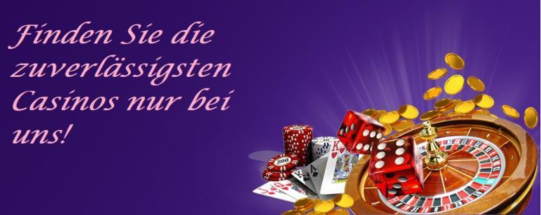 Zuverlässige Online Casinos