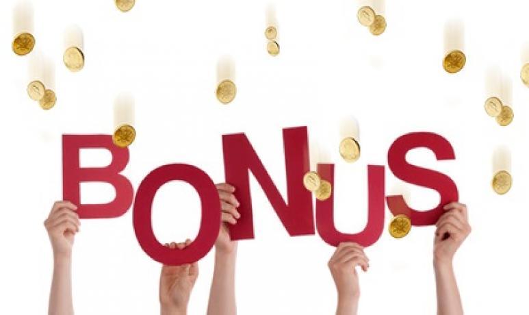 plus d'argent avec un bonus
